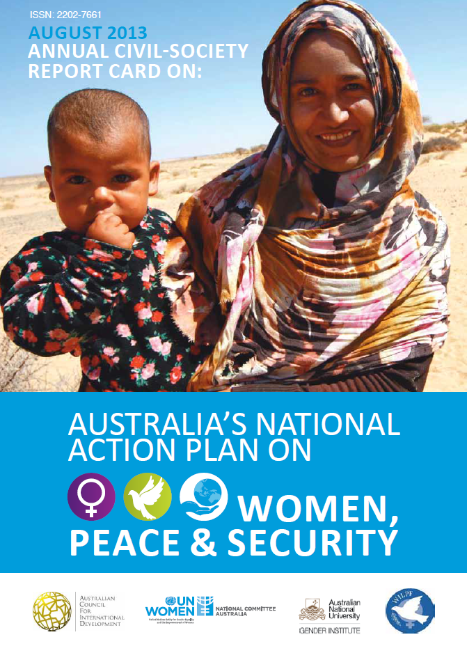 Annual Civil Society Report Card on Australia's National Action Plan on Women, Peace and Security