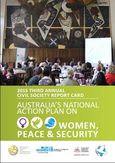 Third Annual Civil Society Report Card